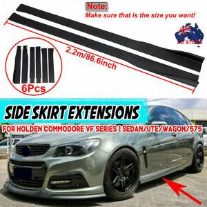 2.2m Side Skirt Splitter For Holden Commodore VF Series 1 Sedan/Ute/Wagon/575