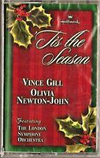 'TIS THE SEASON - Vince Gill & Olivia Newton-John - Sealed Cassette (2000)