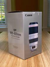 Canon  EF 100-400mm f/4.5-5.6L IS II USM Lens - White