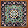 Iznik Design Turkish Tile Panel Set,16 piece Wall Feature - Splashback -Combo 13
