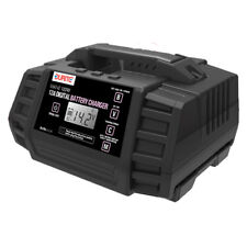 Durite 0-647-42 12 AMP 9 Step Fully Automatic Digital Battery Charger Car Camper