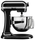 BRAND NEW Kitchen Aid PRO 600 Series 6 Quart Bowl Lift Stand Mixer In Onyx Black photo