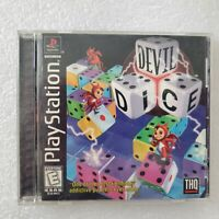 Devil Dice (Sony PlayStation 1, 1998) Rare PS1 Game Complete CIB Tested Working