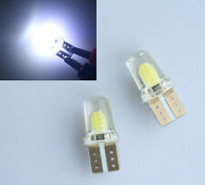 5x Super White T10 194 168 W5W COB 8 SMD SILICA Bright LED light Bulb 6000K 12V