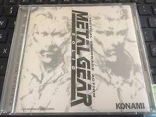Metal Gear Solid Video Game Soundtrack Konami Japan Import 21 Tracks Very Rare
