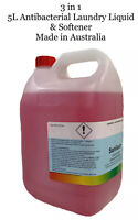 Laundry Liquid Bulk 5L Antibacterial Fabric Softener 3 In 1 Made in Australia