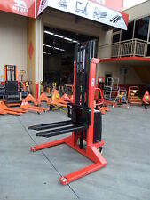 Semi Electric Pallet Stacker, Straddle ,1500kg/3m, Best Value, Our Factory!!