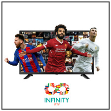 """1 Month "" INFINITY IPTV SUBSCRIPTION +4000 CHANNELS & VOD Arab,Europe,Latin,UK"