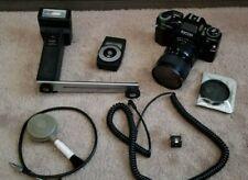 Ricoh KR-30SP 35mm Film Camera with Seikano 28 :70mm 1: 3.5 - 4.5 CF Macro Lens