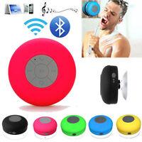 MINI Sucker Subwoofer Waterproof Shower Wireless Bluetooth Speaker Car Handsfree
