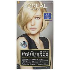 L'Oreal Recital Preference- 9.1 Light Ash Blonde