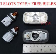 Clear Side Indicator blinker fender light for 99-02 Nissan Silvia S15 200SX Spec
