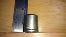 Vintage Challenger 1217M 3/8 Drive 6pt 17mm Standard Socket ~ Proto Plomb Plvmb