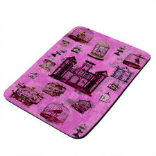 Beautiful Bird Cage Castle - Thick Rubber Mouse Pad/Pro-Gaming/Hot Plate/Trivet