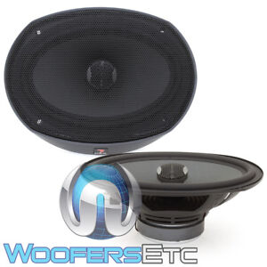 "FOCAL PC690N 6""X9"" PERFORMANCE 120W RMS ALUMINUM TWEETERS COAXIAL SPEAKERS NEW"