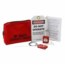 US$80 BRADY Personal Lockout Tagout Bag Pouch Kit 131552 NEW