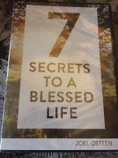 7 SECRETS TO A BLESSED LIFE BY JOEL OSTEEN (NEW & SEALED) See Description.  Nice