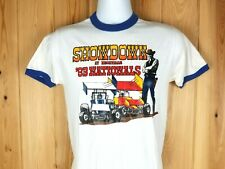 Vintage 1983 KNOXVILLE SHOWDOWN  T SHIRT Sprint Car KNOXVILLE NATIONALS EVCA