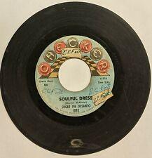 """Sugar Pie Desanto – Soulful Dress/Use What You Got 7"""" 45 (1964 Checker 1082)"""