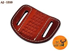 HAND MADE PURE COW LEATHER SHEATH FOR KNIVES & OTHER TOOLS - AJ 1310