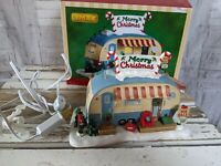 Lemax trailer home house village Xmas building