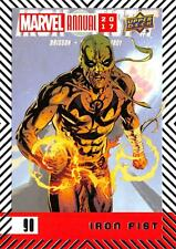 IRON FIST / 2017 MARVEL ANNUAL (2018 Upper Deck) BASE Trading Card #90