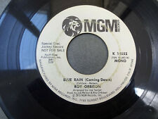 ROY ORBISON Blue Rain (Coming Down) MGM WL PROMO 14552 rare 45