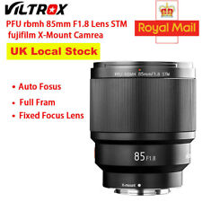 New VILTROX 85MM F1.8 STM X-mount Focus Lens AF Full Frame for fujifilm Camera