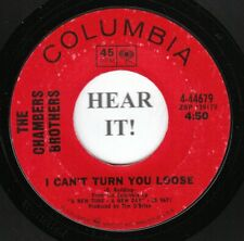 The Chambers Brothers NORTHERN 45 (Columbia 44679) I Can't Turn You Loose   VG+