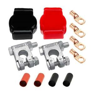 Car Top Post Battery Cable Terminal Positive Negative Clamp Connector for Ship