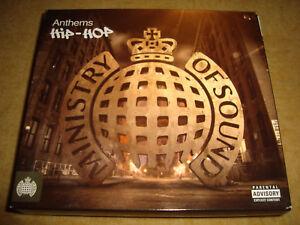 ANTHEMS HIP-HOP (3 CDs) RUN-DMC DR DRE SNOOP DOGG GANG STARR DJ QUIK WU-TANG NAS