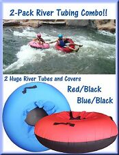 2-Pack Colossal River Tube and Cover Combos