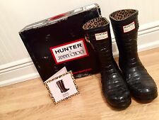 RARE Hunter Jimmy Choo Rain Boots $400 Nordstrom Bloomingdales Saks Fifth Avenue