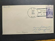 NAVY #231 Oran, Algeria, North Africa 1943 Naval Cover