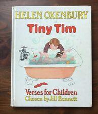 Helen Oxenbury TINY TIM Verses for Children Chosen by Jill Bennett 1981 1st