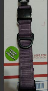 Kong Max Strong Dog Collar Anti Chew Resistant Purple Neck Size M Medium