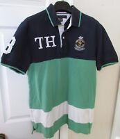 Tommy Hilfiger New York City Lacrosse Club Polo Shirt Size Large