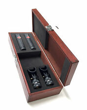Wooden Box for Neumann km140, km145 Microphones