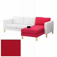 IKEA Karlstad Add-on Chaise COVER Sivik Pink Red SLIPCOVER Pink-Red Watermelon