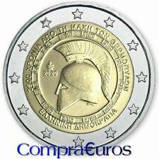 2 Euros Conmemorativos GRECIA 2020 *Batalla de las Termópilas* Sin Circular