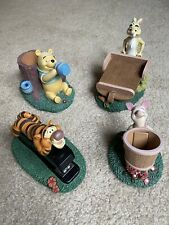 Disney Winnie The Pooh Desk / Office Four Piece Set