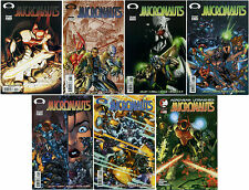 MICRONAUTS LOT OF 7 IMAGE/DEVILS DUE COMICS; 2003 2004 4 6 7 8 9 10 3
