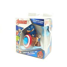 Marvel Avengers Clutch n Pop Captain America Foam Ball Attack Collector Kid Toy