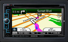"Kenwood DNX6020EX 6.1"" Garmin GPS Navigation System CD/DVD/AUX/USB/BT/SiriusXM"