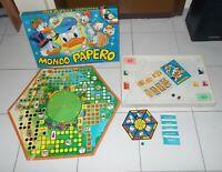 MONDO PAPERO Clementoni Giochi 1973 Walt Disney Paperino OTTIMO COMPLETO