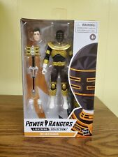 """Hasbro Power Rangers Lightning Collection 6"""" Zeo Gold Ranger Action Figure with…"""