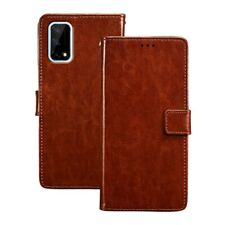 PU Leather Wallet Cover For Realme Q2 5G RMX2117 Q2 Pro RMX2173 FliP Case For