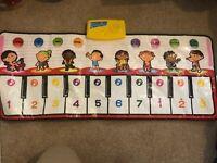 Large Musical Keyboard Playmat