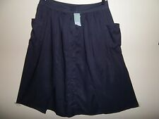 Katies Machine Washable Solid Regular Size Skirts for Women