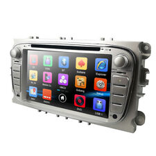 """For Ford Focus/Mondeo/S-Max Radio 2 Din 7"""" Car Stereo DVD Player GPS Sat Nav RDS"""